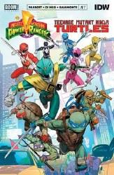Power Rangers Teenage Mutant Ninja Turtles #1 Cvr A Mora (C: