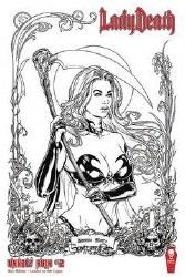 Lady Death Unholy Ruin #2 S&N Raw Ed (Mr)