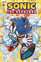 Sonic The Hedgehog #25 Cvr A Hesse (Note Price) (C: 1-0-0)
