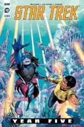 Star Trek Year Five #10 Cvr A Thompson
