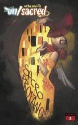 Mirka Andolfos Unsacred #3 Cvr D  Andolfo Klimt Homage Var (