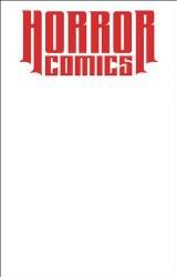 Horror Comics Sketchbook One Shot Virgin White Ed