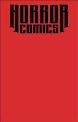 Horror Comics Sketchbook One Shot Blood Dead Ed