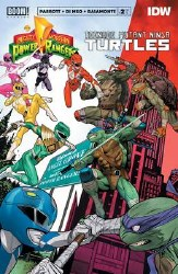 Power Rangers Teenage Mutant Ninja Turtles #2 Cvr A Mora (C: