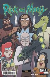 Rick & Morty #58 Cvr A Ellerby (C: 1-0-0)