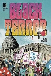 Black Terror #4 Cvr B Fornes