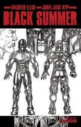 Black Summer #4 Design Sketch Var (Mr)