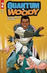 Quantum & Woody (2020) #2 (Of 5) Cvr B Quinones