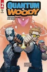 Quantum & Woody (2020) #2 (Of 5) Cvr C Brown