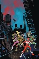 Power Rangers Teenage Mutant Ninja Turtles #3 Cvr A Mora (C: