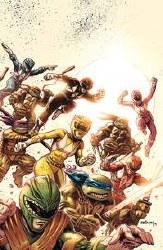 Power Rangers Teenage Mutant Ninja Turtles #1 Foc Var (C: 1-