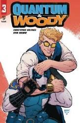 Quantum & Woody (2020) #3 (Of 4) Cvr C Robson