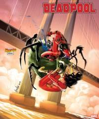 Deadpool #5 Andolfo Spider-Woman Var