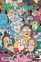 Rick & Morty #60 Cvr B Starks (Net) (C: 1-0-0)