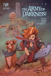 Death To Army Of Darkness #2 Cvr B Davila