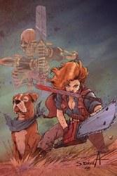 Death To Army Of Darkness #2 Davila Ltd Virgin Cvr
