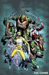 Power Rangers Teenage Mutant Ninja Turtles #2 Foc Var (C: 1-