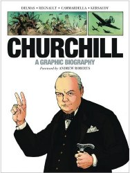 Churchill Graphic Biography Gn (C: 1-1-0)
