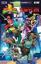 Power Rangers Teenage Mutant Ninja Turtles #1 Main 2nd Ptg (