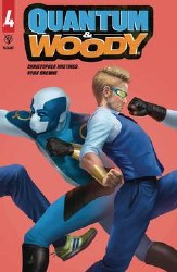 Quantum & Woody (2020) #4 (Of 4) Cvr B Rahzzah