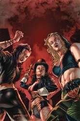 Van Helsing Vs League Monsters #3 Cvr A Barrionuevo
