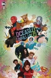 Dceased Unkillables #3 (Of 3) Card Stock Horror  Tasia Ms Va