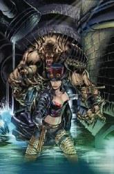 Van Helsing Vs League Monsters #4 Cvr B Vitorino