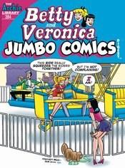 Betty & Veronica Jumbo Comics Digest #284