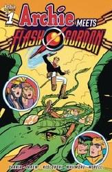 Archie Meets Flash Gordon Oneshot Cvr B Jarrell