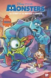 Disney Pixar Monsters Inc & University Movie In Comics Hc (C