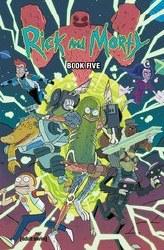 Rick And Morty Hc Book 05 Dlx Ed (Mr) (C: 1-1-0)