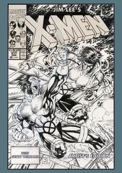 Jim Lees X-Men Artist Ed Hc (Net) (C: 0-1-1)
