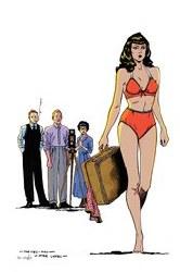 Bettie Page #3 Peeples Homage Ltd Virgin Cvr