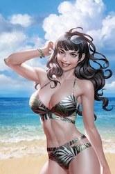 Bettie Page #3 Yoon Ltd Virgin Cvr
