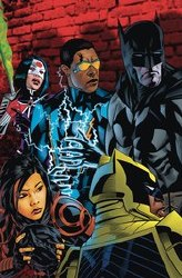 Batman And The Outsiders #16 Michaelgolden Var Ed
