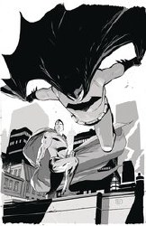 Batman Superman #12 Card Stock Mark Brooks  Var Ed