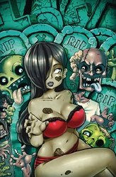 Zombie Tramp Ongoing #76 Cvr F Toqueen Risque (Mr)
