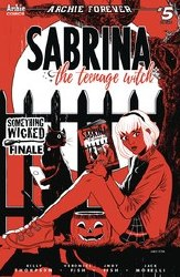 Sabrina Something Wicked #5 (Of 5) Cvr C Andy Fish