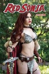 Red Sonja #22 Cvr D Polson Cosplay