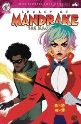 Legacy Of Mandrake The Magician #4 (Of 4)