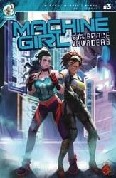 Machine Girl & Space Invaders #3 (Mr)