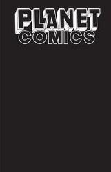 Planet Comics Sketchbook One Shot Black Hole Ed