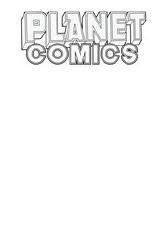 Planet Comics Sketchbook One Shot White Star Ed