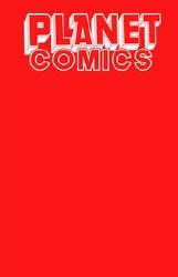 Planet Comics Sketchbook One Shot Red Giant Ed