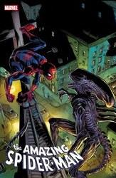 Amazing Spider-Man #56 Bagley Marvel Vs Alien Var