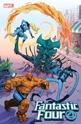 Fantastic Four #28 Cassara Marvel Vs Alien Var Emp