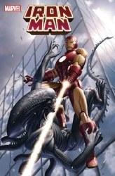 Iron Man #5 Yoon Marvel Vs Alien Var