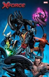X-Force #16 Larroca Marvel Vs Alien Var