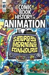 Comic Book History Of Animation #4 (Of 5) Cvr A Dunlavey