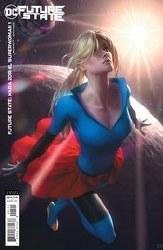 Future State Kara Zor El Superwoman #1 Card Stock Var Ed